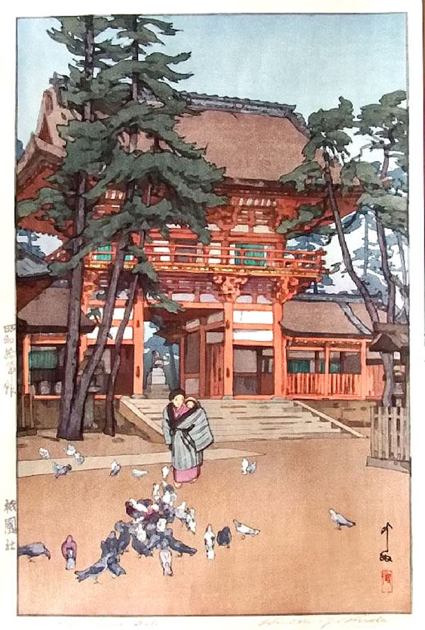 beautiful wood-block prints by hiroshi yoshida 16