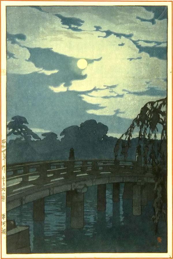 beautiful wood-block prints by hiroshi yoshida 17