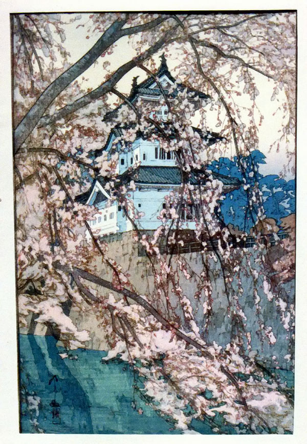 beautiful wood-block prints by hiroshi yoshida 18