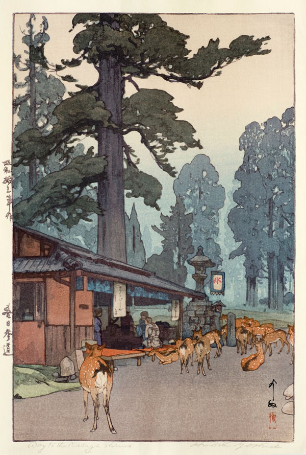 beautiful wood-block prints by hiroshi yoshida 19