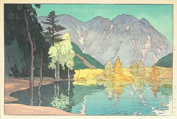 beautiful wood-block prints by hiroshi yoshida 20