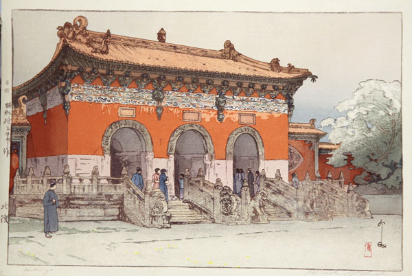 beautiful wood-block prints by hiroshi yoshida 21