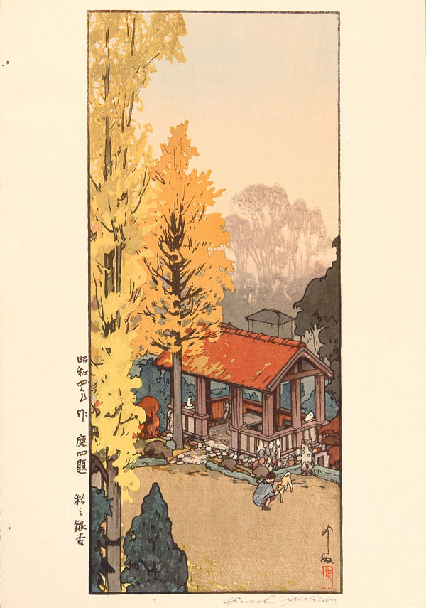 beautiful wood-block prints by hiroshi yoshida 23