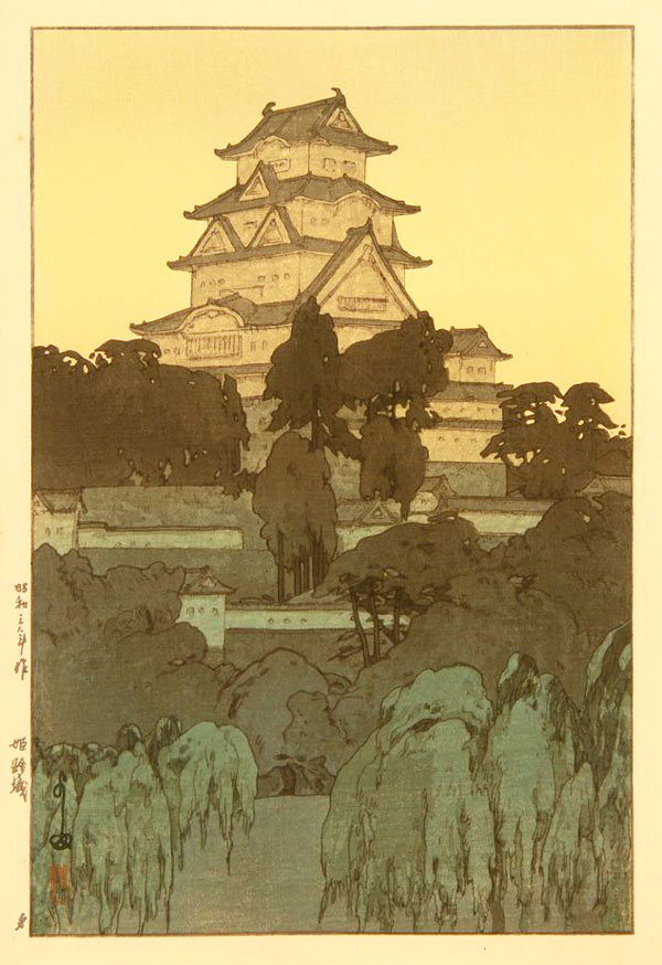 beautiful wood-block prints by hiroshi yoshida 26