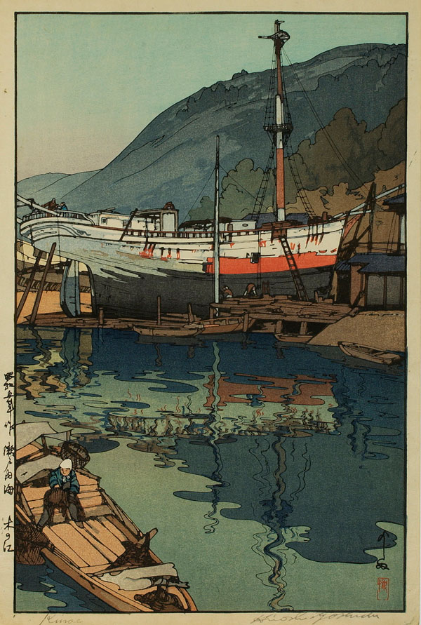 beautiful wood-block prints by hiroshi yoshida 28