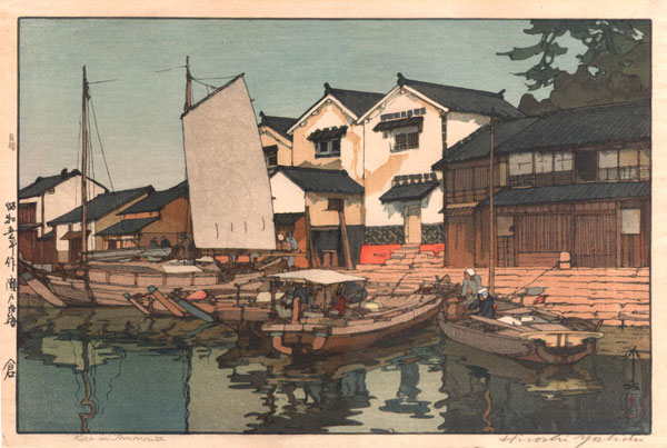 beautiful wood-block prints by hiroshi yoshida 29