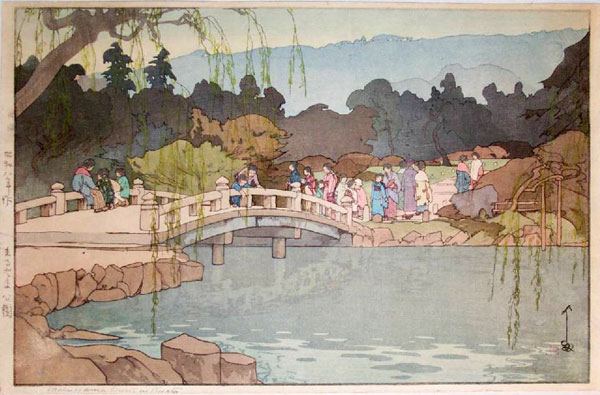 beautiful wood-block prints by hiroshi yoshida 31
