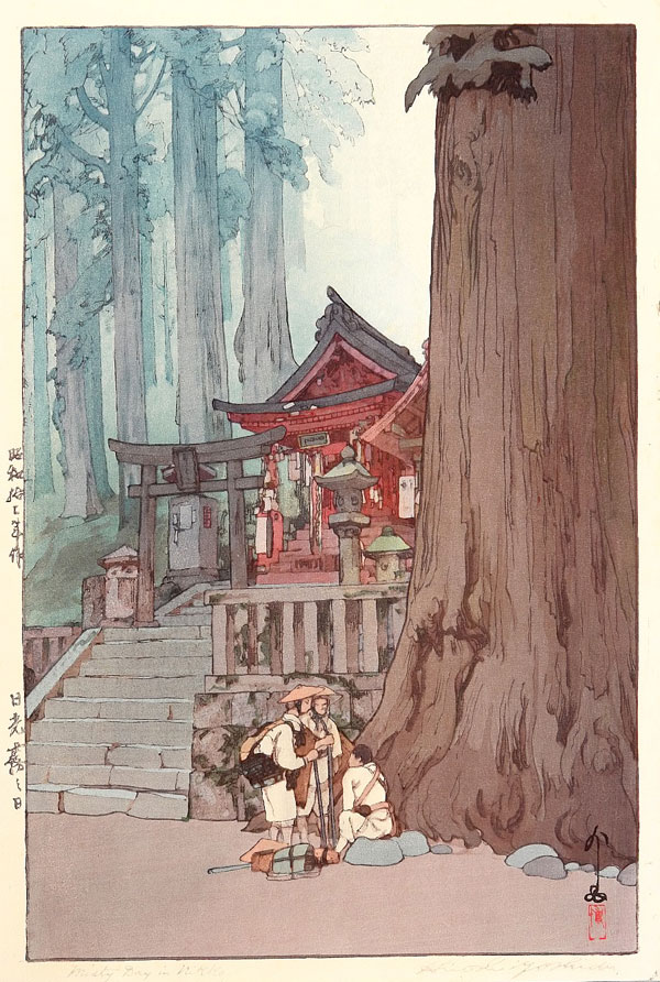 beautiful wood-block prints by hiroshi yoshida 32