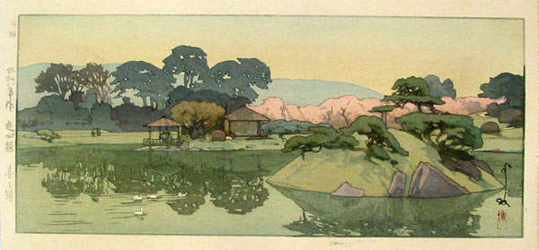 beautiful wood-block prints by hiroshi yoshida 34