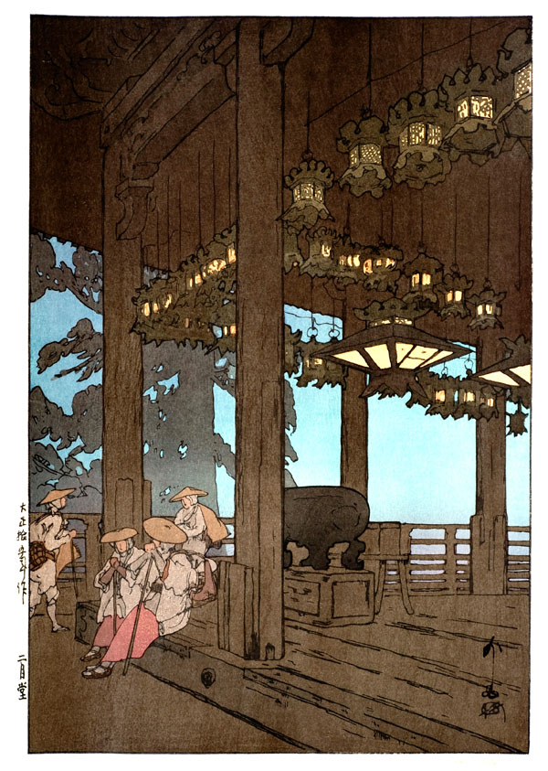 beautiful wood-block prints by hiroshi yoshida 33