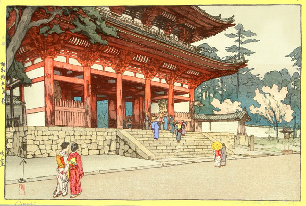 beautiful wood-block prints by hiroshi yoshida 35