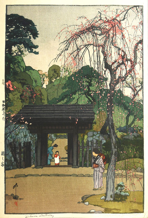 beautiful wood-block prints by hiroshi yoshida 36