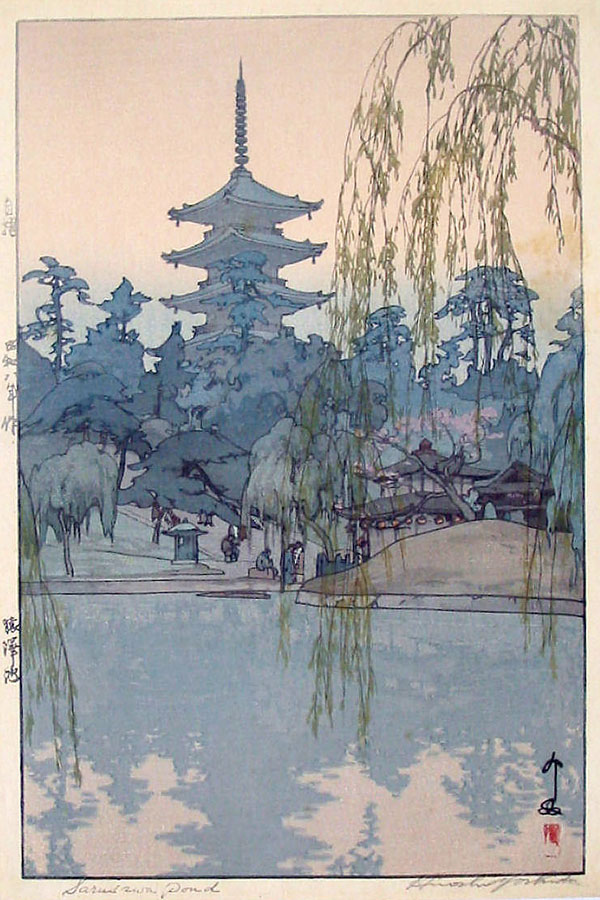 beautiful wood-block prints by hiroshi yoshida 38