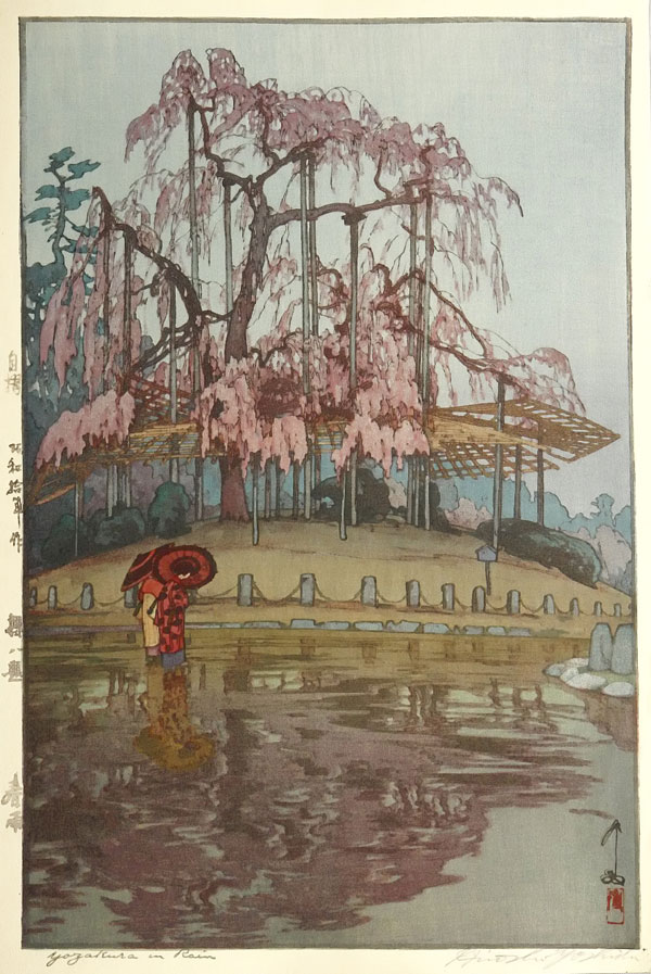 beautiful wood-block prints by hiroshi yoshida 41