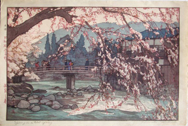 beautiful wood-block prints by hiroshi yoshida 40