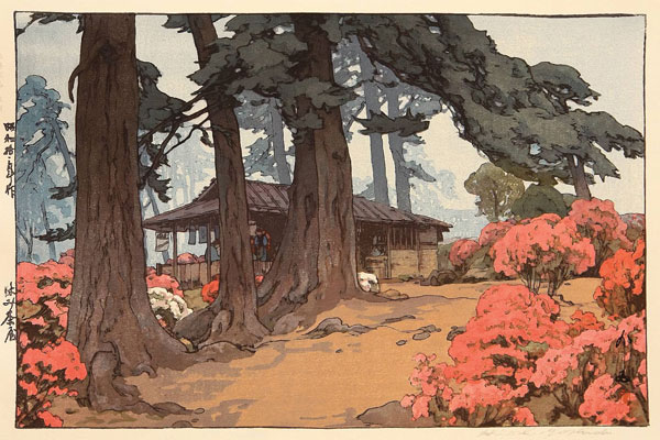 beautiful wood-block prints by hiroshi yoshida 43