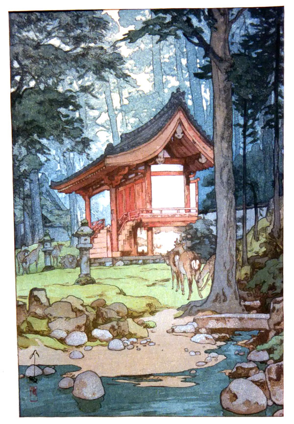 beautiful wood-block prints by hiroshi yoshida 44