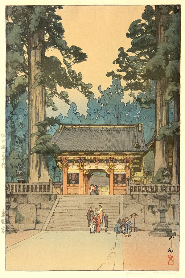 beautiful wood-block prints by hiroshi yoshida 46