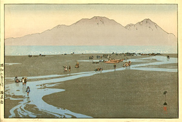 beautiful wood-block prints by hiroshi yoshida 47