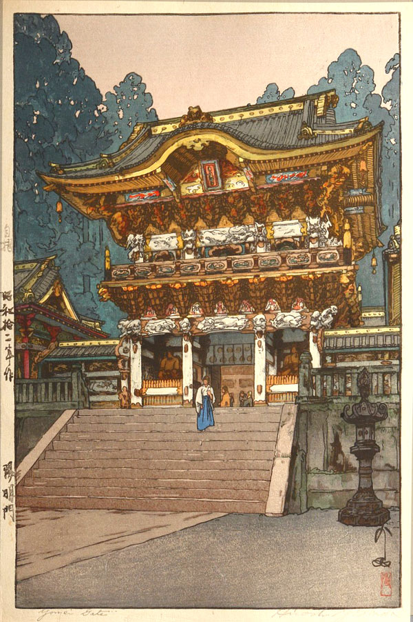beautiful wood-block prints by hiroshi yoshida 49