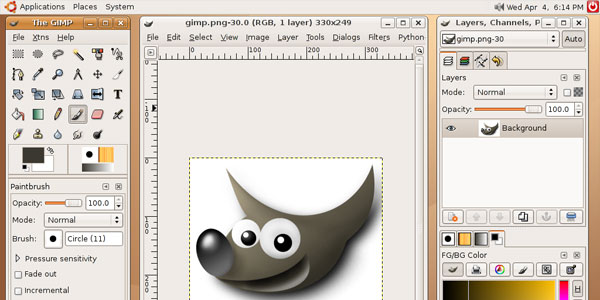 gimp 25 Top Free MAC Apps For Graphic Designers
