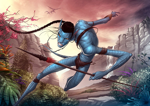 Avatar by patrickbrown Cool Movie Fan Art to Keep You Fresh   I.D. 35