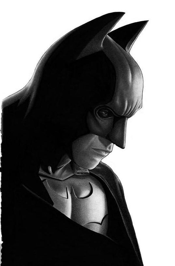 Batman by DMThompson Cool Movie Fan Art to Keep You Fresh   I.D. 35