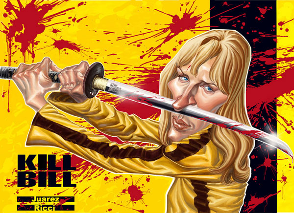 KILL BILL   THE BRIDE  by juarezricci Cool Movie Fan Art to Keep You Fresh   I.D. 35