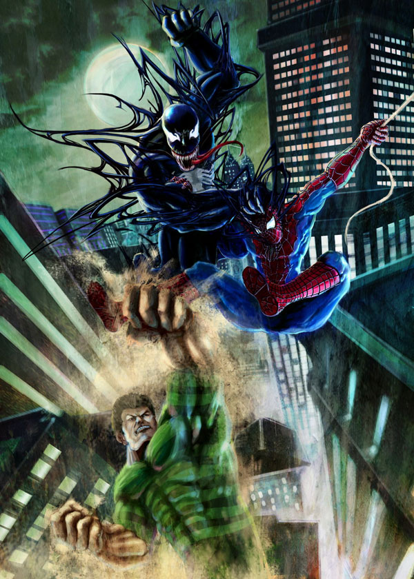 Spiderman by ahbi Cool Movie Fan Art to Keep You Fresh   I.D. 35