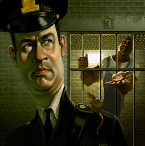 The Green Mile by infernovball Cool Movie Fan Art to Keep You Fresh   I.D. 35