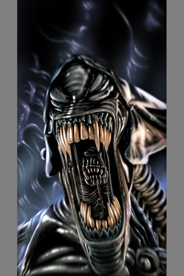 alien queen by ashasylum Cool Movie Fan Art to Keep You Fresh   I.D. 35