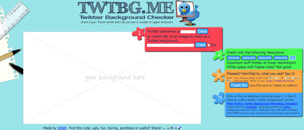 Twitter Background Checker