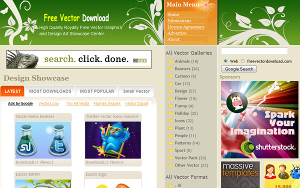 freevectordownload Best Sites For Getting Free Vector Art Images   35 Of Them