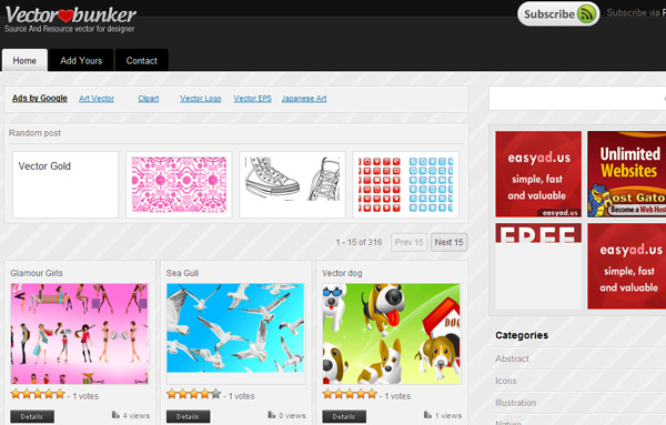vectorbunker Best Sites For Getting Free Vector Art Images   35 Of Them