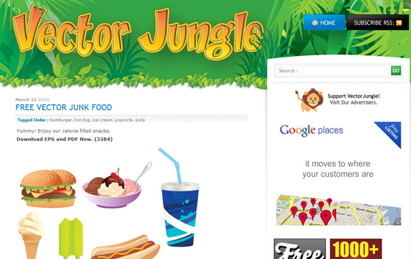 vectorjungle Best Sites For Getting Free Vector Art Images   35 Of Them
