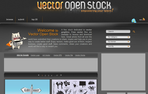 vectoropenstock Best Sites For Getting Free Vector Art Images   35 Of Them