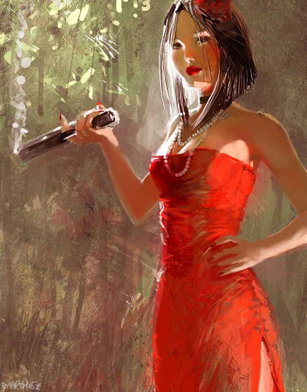 Stunning Paintings by Pierrick Martinez 24
