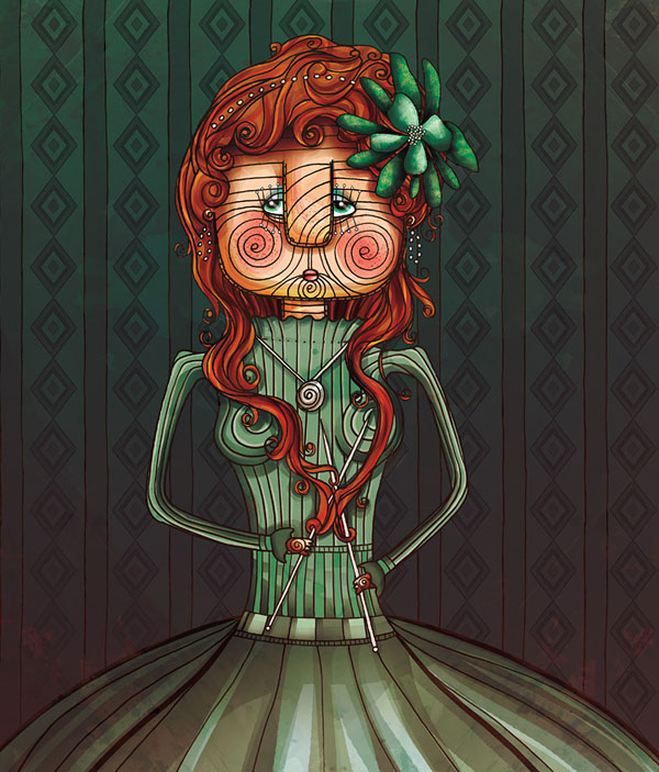 Phantasmagorical Art of Anna Anjos 23