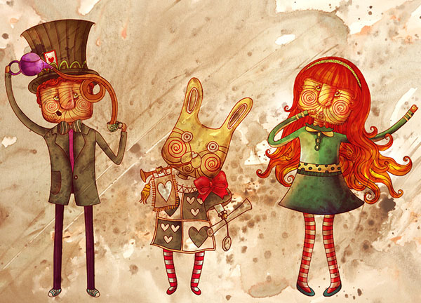 Phantasmagorical Art of Anna Anjos 36