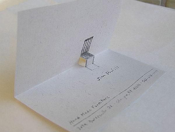 seat business card
