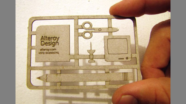 alteroy business card