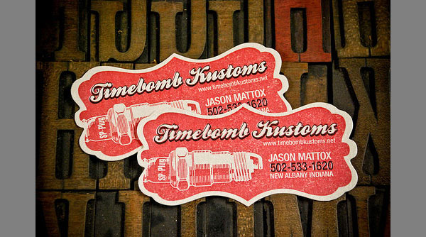 timebomb business card