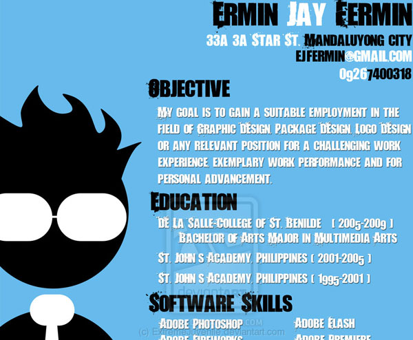 extremejuvenile 20 Smart and Creative Resume Design