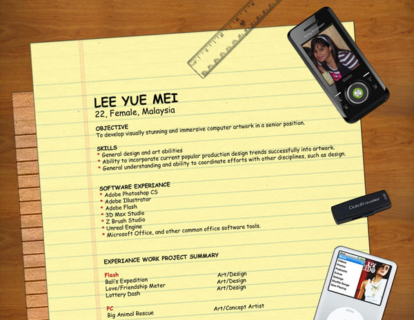 ilicarriedoll 20 Smart and Creative Resume Design
