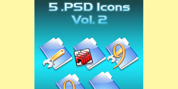 PSD Icons Vol. 2