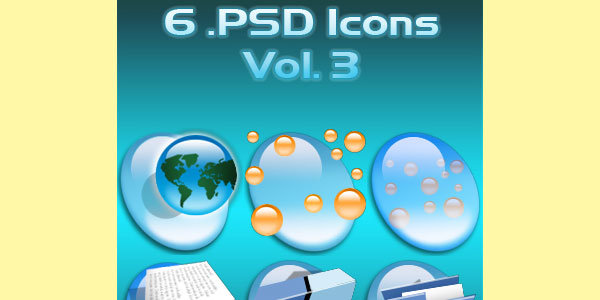 PSD Icons Vol. 3