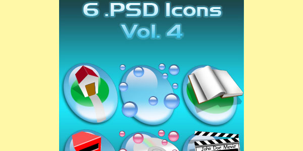 PSD Icons Vol. 4