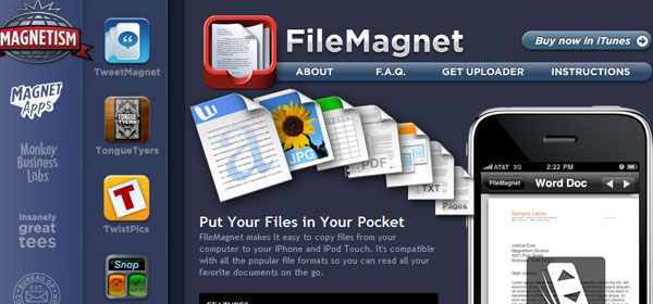 FileMagnet 80 Best iPhone Application Websites