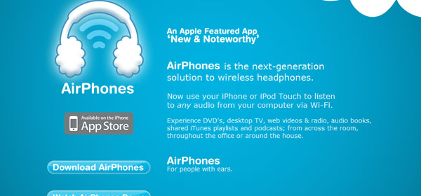 airphonesapp 80 Best iPhone Application Websites