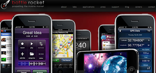 bottlerocketapps 80 Best iPhone Application Websites